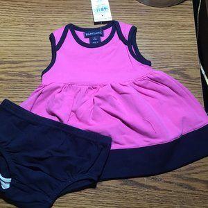 Ralph Lauren pink summer dress 3-6 months NWT